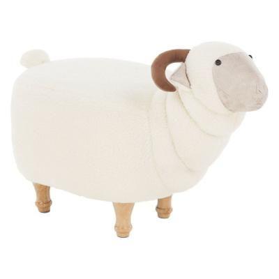 Bárány alakú ülőke, törtfehér - BORIS